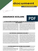 Conseil 710 Fj122-Assurance Scolaire