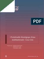 Portefeuille Stratégique Coca Cola