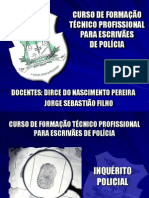 ESCRIVÃES - INQUÉRITO POLICIAL