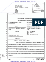 Sharnee Family Trust Bkrup filed in 2000 case 00-03615 A Declaration