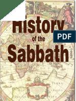 History of the Sabbath - J N Andrews