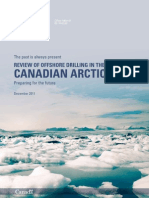Review of Offshore Drilling in the Canadian Arctic