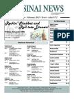 Sinai News Jan-Feb 2012