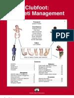 Clubfoot - Ponseti Management. Editor Lynn Stahelli (2003)