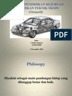 Presentasi Filsafat Pendidikan Kejuruan