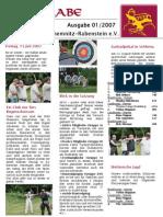 Bogenrabe Clubmagazin Ausgabe 01 / 2007