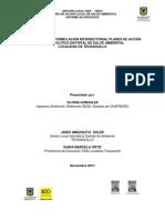 Plan Salud y Ambiente Teusaquillo 2011