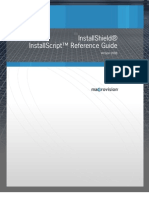 Install Shield Install Script Language Reference Guide