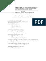 Chapter 4 TEFL UGR FL Curriculum