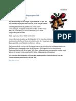Brief vom Vorstand zum Jahreswechsel 2010/2011