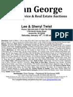 Lee Twist Auction