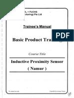 Basic Product Tranning - Sensor