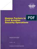 Doc 9808 - Human Factors in Civil Aviation Security Operations