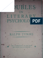 Tymms, Ralph. Doubles in Literary Psychology.