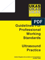 SoR Professional Working Standards Guidelines