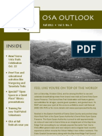Fall 2011 Outlook, Santa Clara County Open Space Authority Newsletter