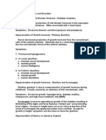 Endocrine Hormones and Disorders