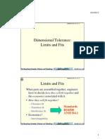L5 - Dimensional Tolerance