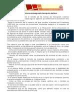 Normas Para Transcripci%C3%B3n en Braille