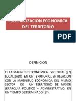 Especializacion Economica Del Territorio 4