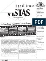 Fall 2006 Vistas Newsletter, Solano Land Trust