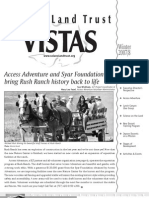 Winter 2007 Vistas Newsletter, Solano Land Trust