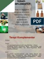 Terapi Komplementer FOKUS GROUP