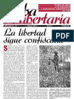 Cuba Libertaria, nº 21, mayo 2011 - La libertad sigue confiscada