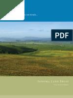 2004 Annual Report Sonoma Land Trust