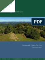 2005 Annual Report Sonoma Land Trust