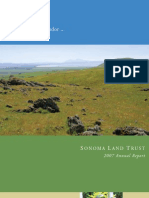 2007 Annual Report Sonoma Land Trust