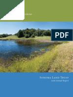 2008 Annual Report Sonoma Land Trust