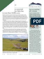 Fall 2007 Sonoma Land Trust Newsletter