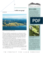 Fall 2008 Sonoma Land Trust Newsletter