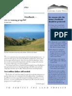 Winter 2008 Sonoma Land Trust Newsletter