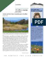 Fall 2009 Sonoma Land Trust Newsletter