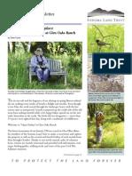 Summer 2011 Sonoma Land Trust Newsletter
