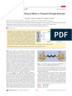 Justin P. Bergfield et al- Novel Quantum Interference Effects in Transport Through Molecular Radicals