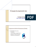 El Lenguaje de Programacin Java