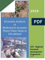 Medicinal Plants Economic Analysis