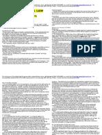 Constitutional Law NCA Summary