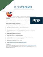 GUIA DE CCLEANER