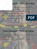 Heat Conductors ( Konduktor Haba)