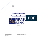Monografie Piraeus Bank Romania