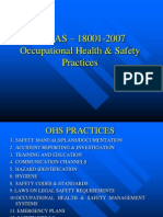 OHSAS – 18001-2007