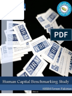 Human Capital Benchmarking Study 2011