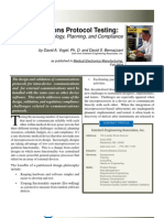 Communications Protocol Testing