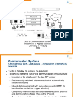 09 1 ISDN and Mobile Telephony
