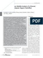 Joseph A. Letizia et al- Variable Temperature Mobility Analysis of n-Channel, p-Channel, and Ambipolar Organic Field-Effect Transistors