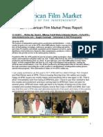 American Film Market 2011 Press Report - David L. Watts, Auggie Cavanagh & Brandon Bowlin - FuTurXTV & Www.thedarkroome
